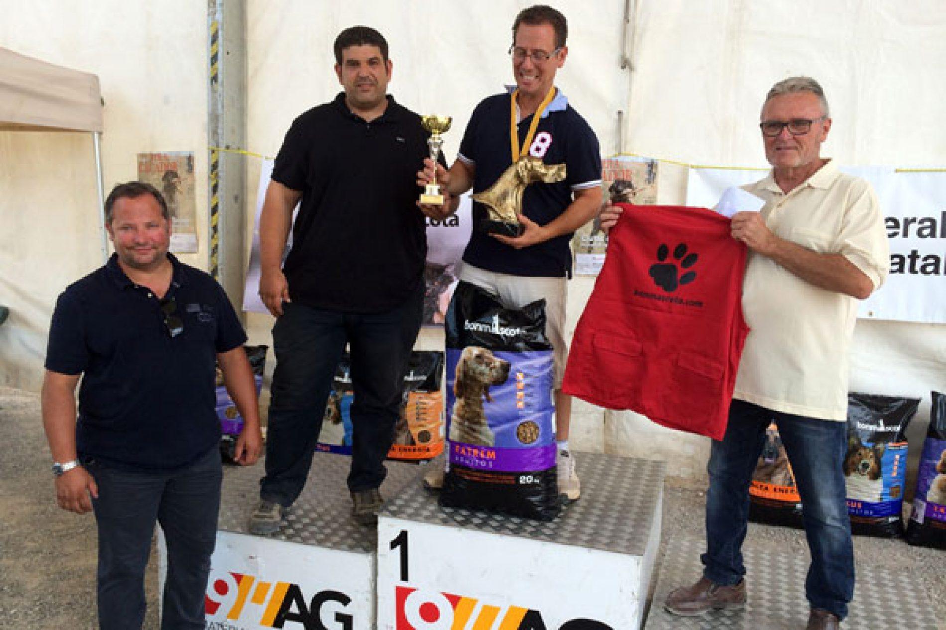 Se celebra el XI Campeonato de Cataluña de Perros de Muestra con mención CACT