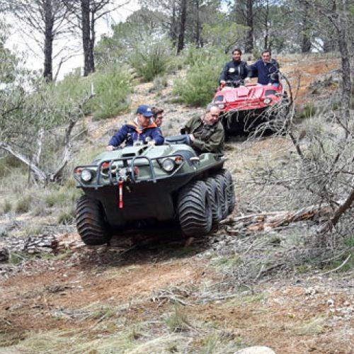 Argo España. Presenta sus vehículos terrestres y acuáticos