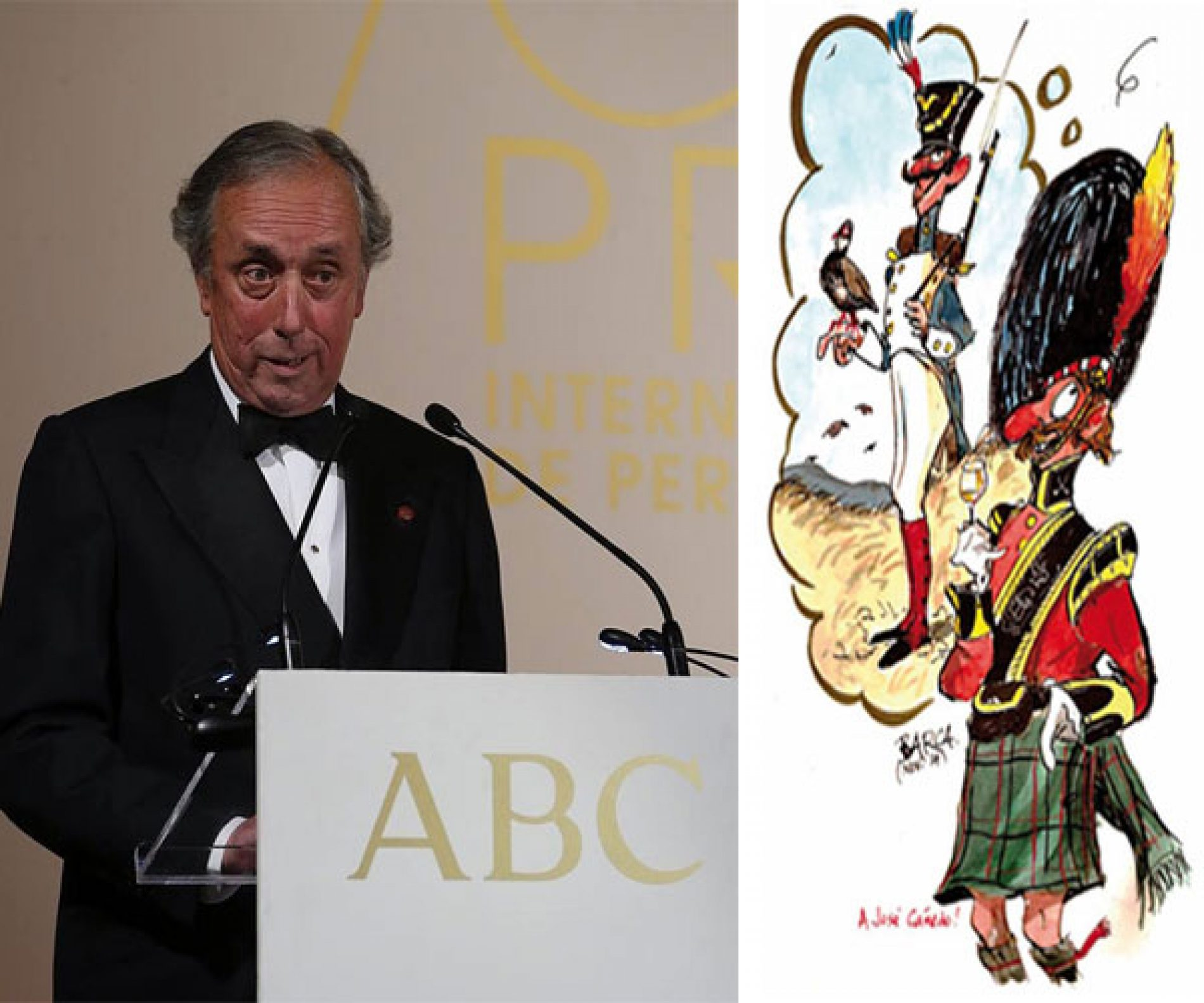 Discurso de Javier Barcáiztegui << Barca>> premio Mingote
