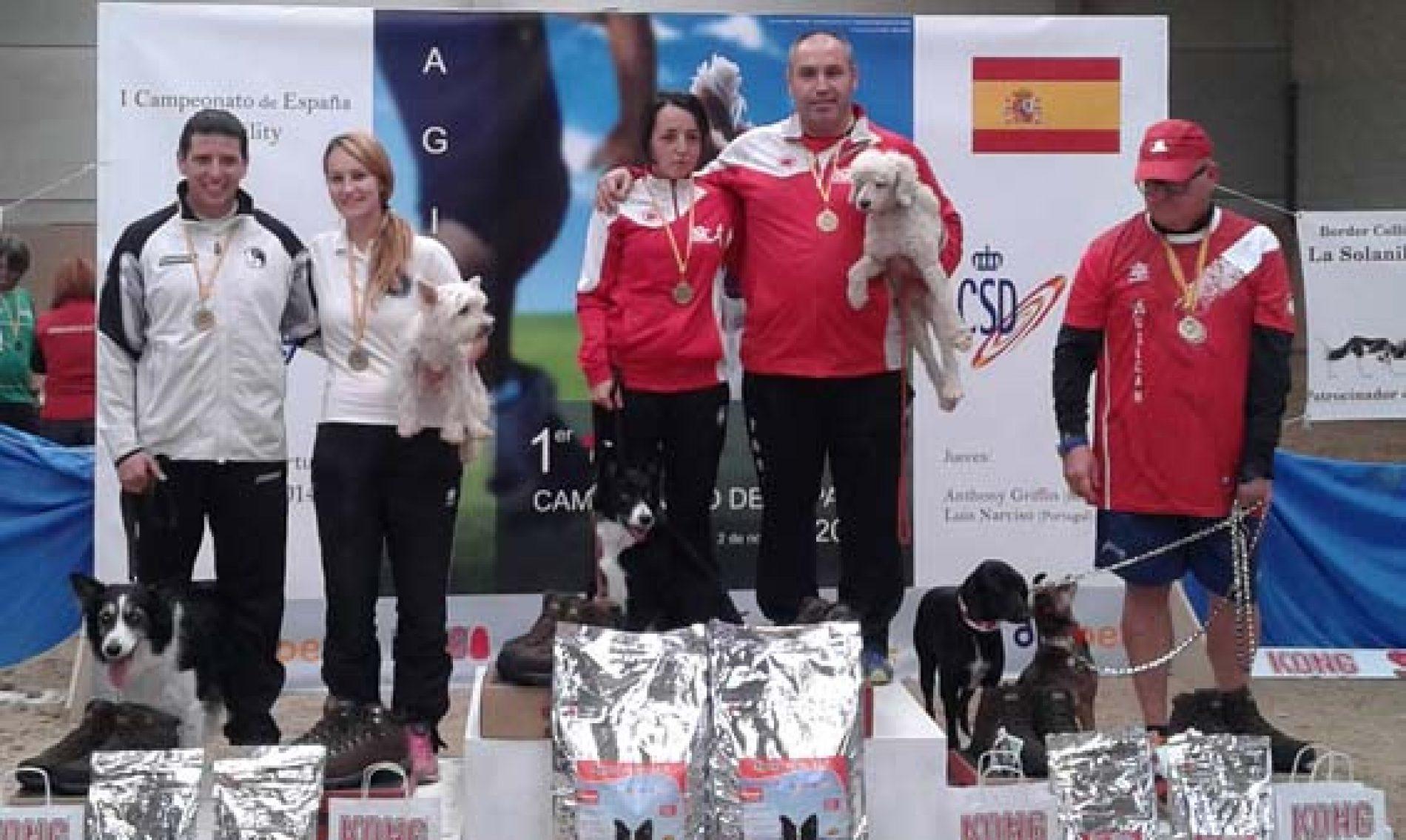Celebrado el primer Campeonato de España de Agility