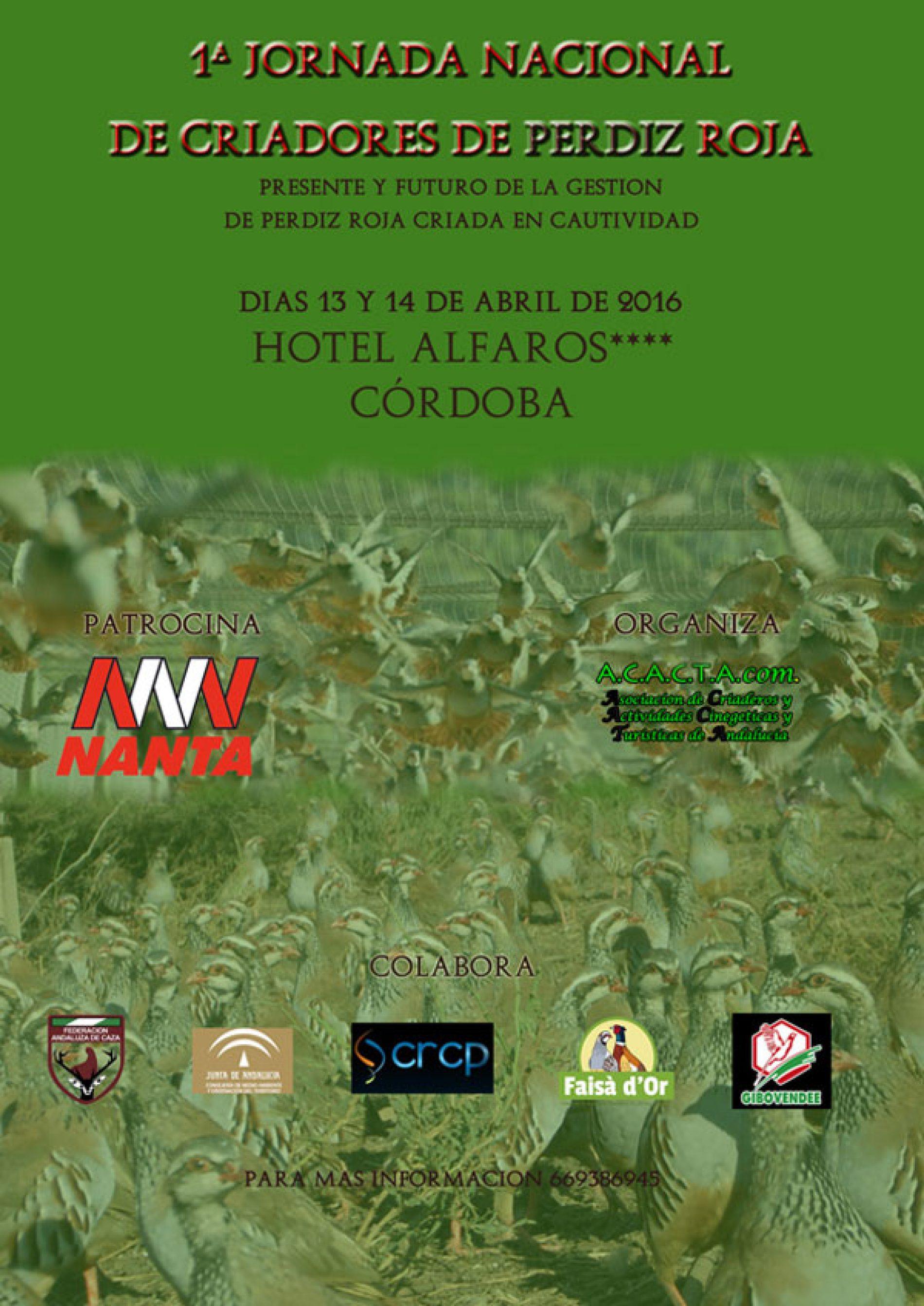1ª Jornadas Nacional de criadores de perdiz Roja.
