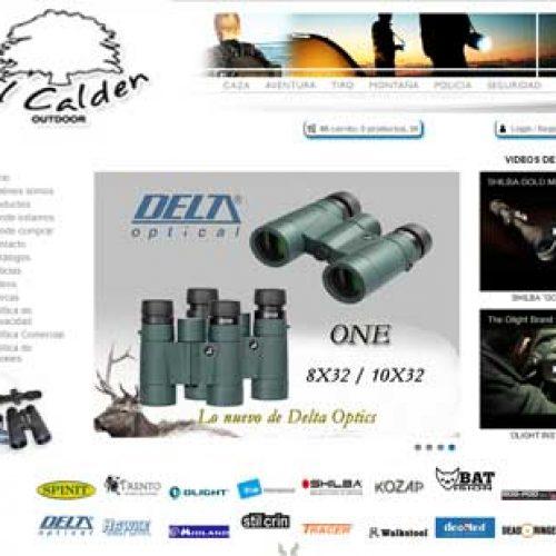 El Calden: Nueva plataforma de venta Online