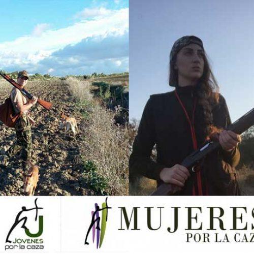 Nuevas representantes de Jóvenes por la caza en Andalucía y Valencia
