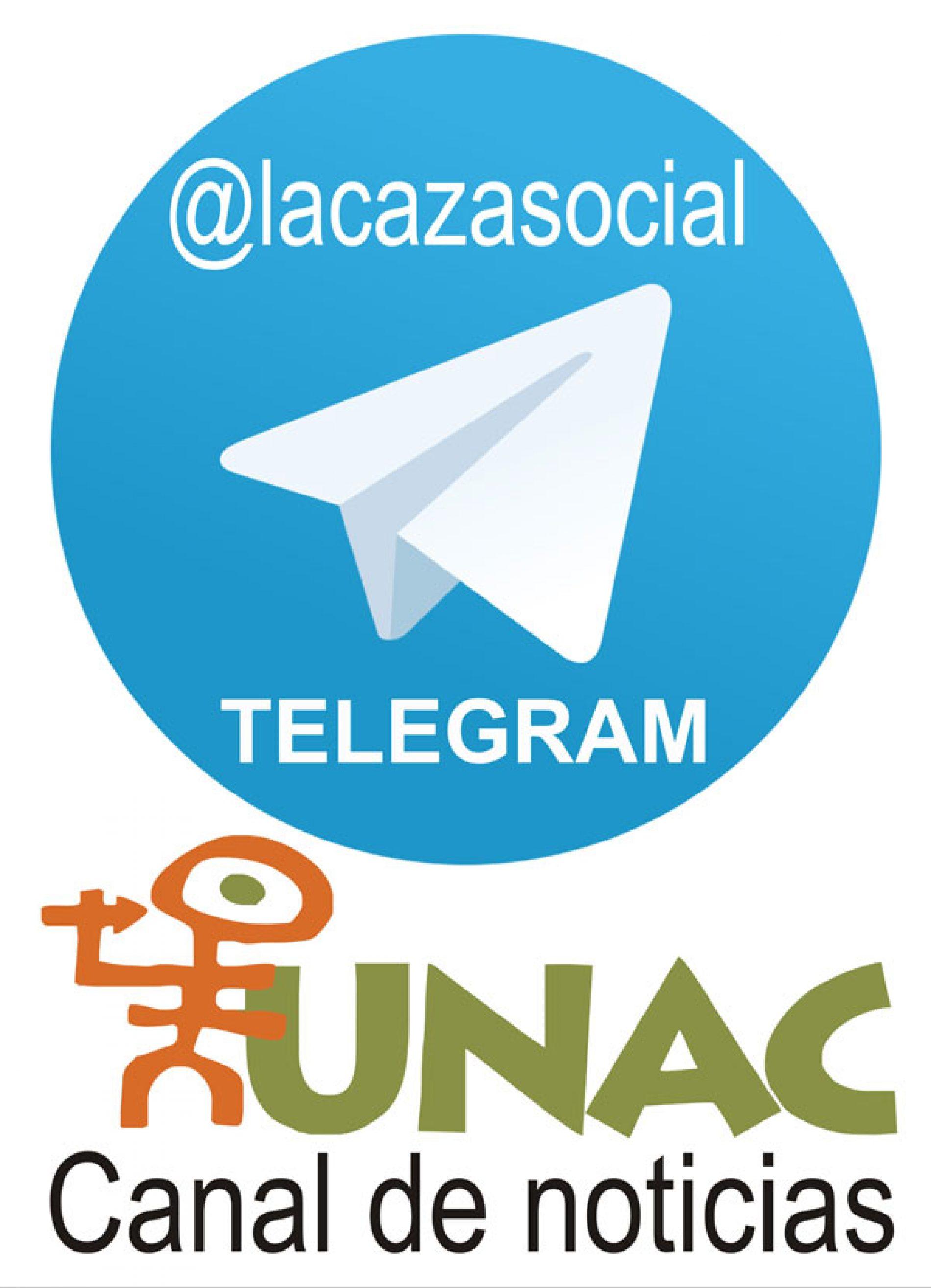 La UNAC lanza su Canal público de noticias en TELEGRAM
