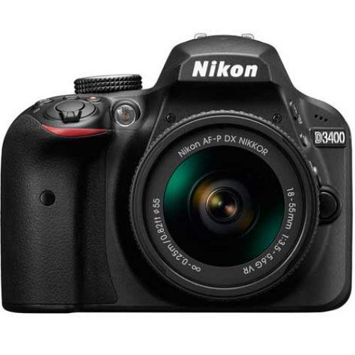 Nueva cámara réflex D3400 de Nikon