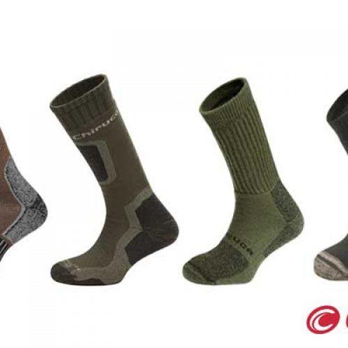 Calcetines cálidos de Chiruca para la práctica de la caza en invierno