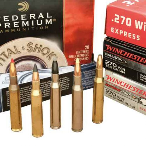 Cartucho 270 Winchester, resolutivo a larga distancia