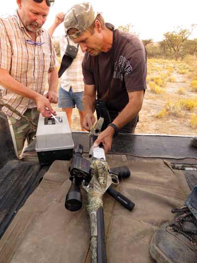 Darting-carga-rifle