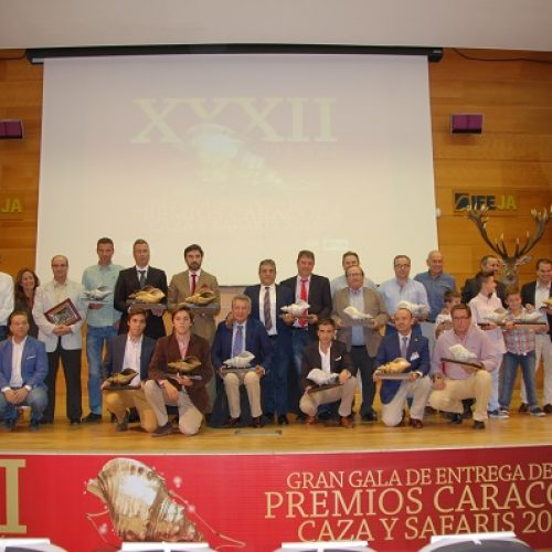 Celebrada la gala de los XXXII Premios Caracola
