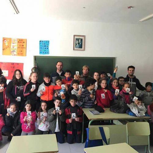 El proyecto PROADES de FEDEXCAZA llegará a más de 700 alumnos de Primaria