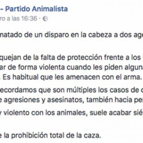 La ONC denunciará a PACMA por su criminalización de la caza