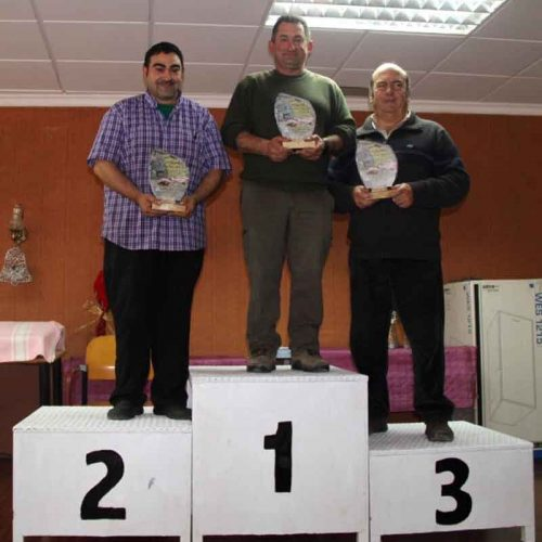 Antonio Fernández Bertomeu campeón Autonómico de perdiz con reclamo