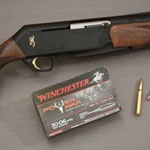 Rifle Semiautomático Browning Bar Longtrac Hunter Nero Fluted