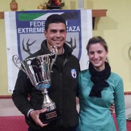 Jose Manuel Mora, campeón de Extremadura de San Huberto 2017