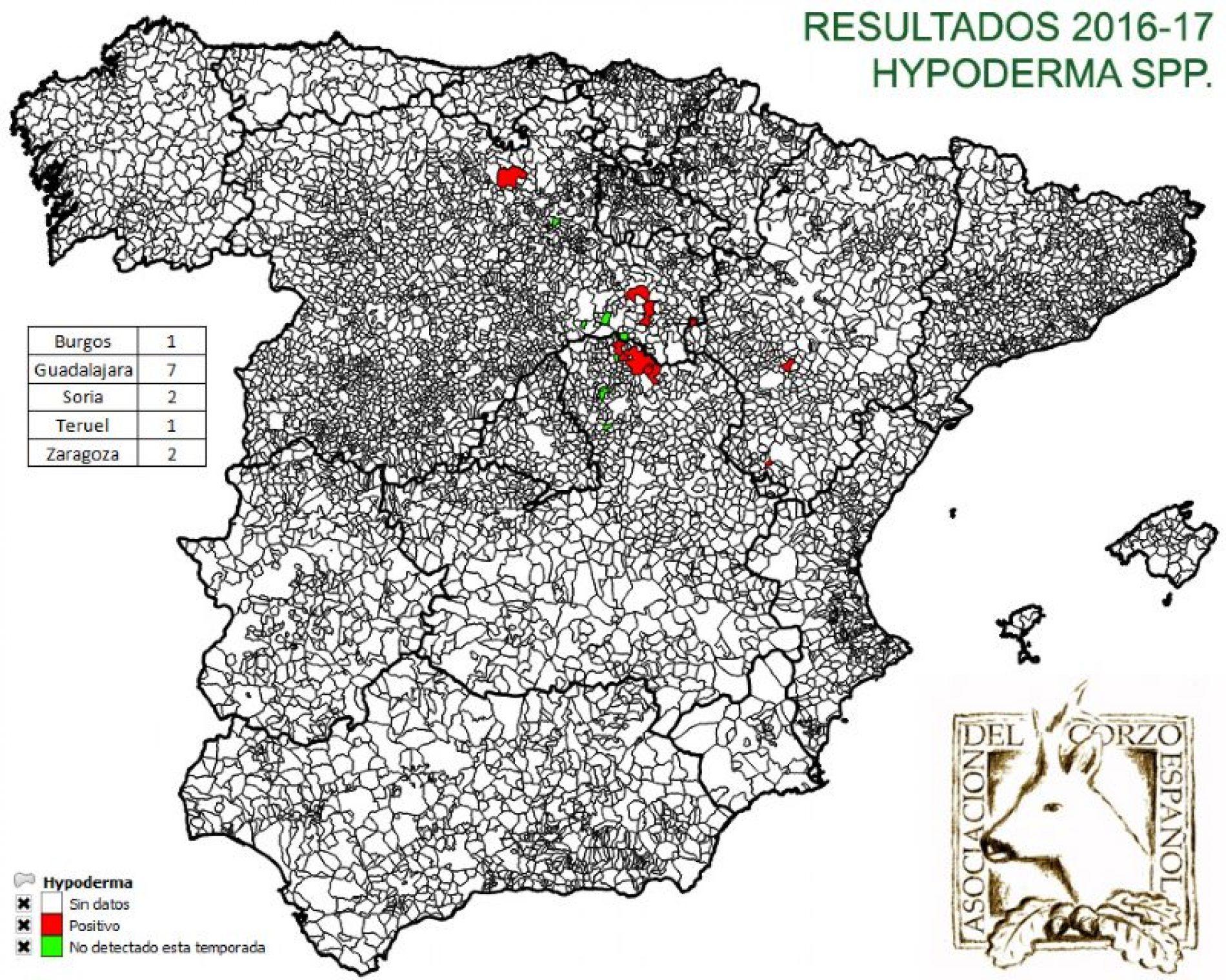 Resultados del Proyecto Hypoderma del Corzo (campaña 2016-2017)