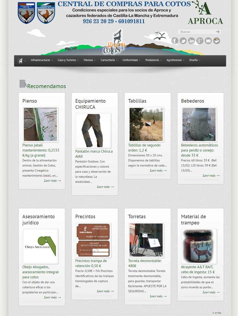 Gesti n de cotos central de compras de las federaciones - Central de compras web ...