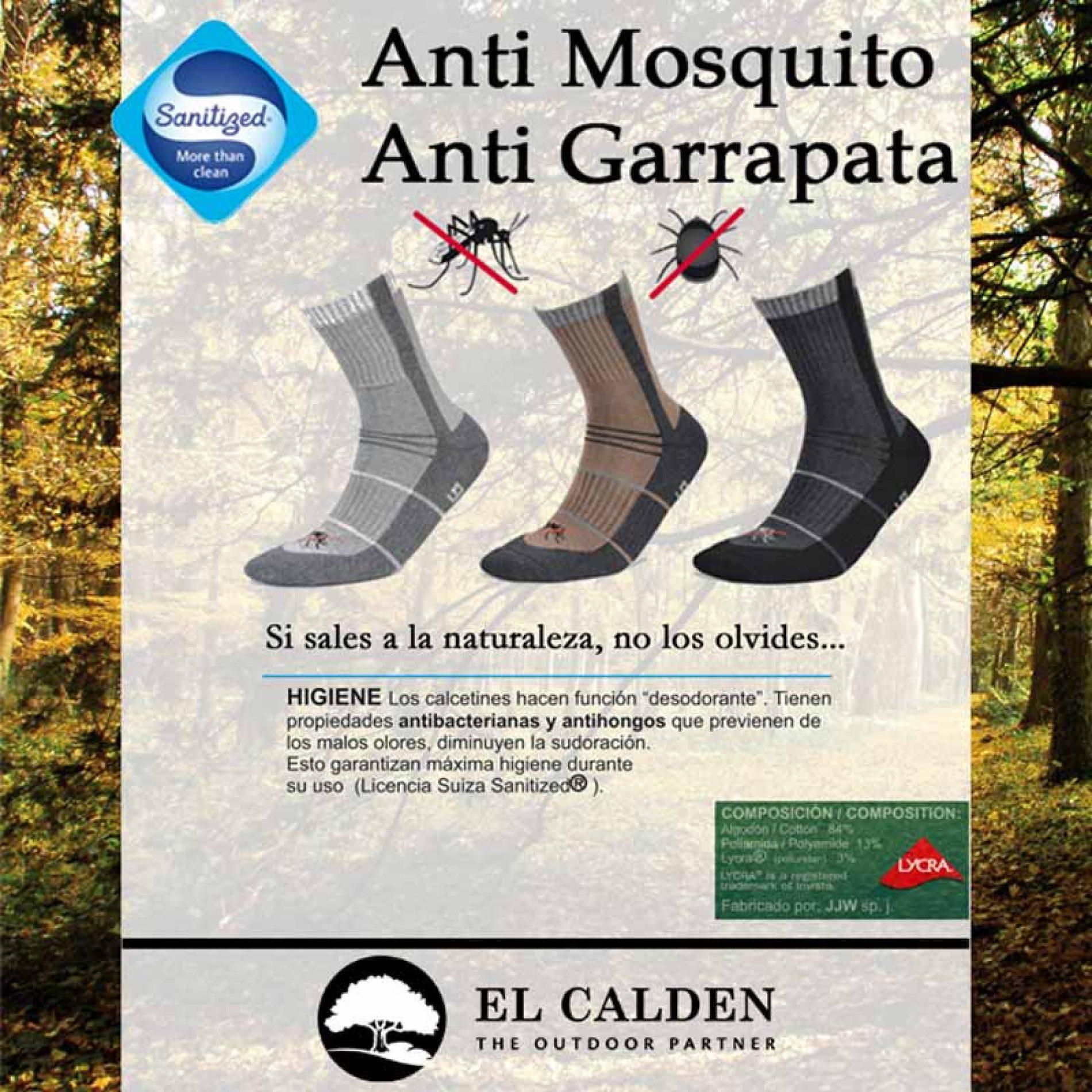 Calcetines anti mosquitos y garrapatas Deomed