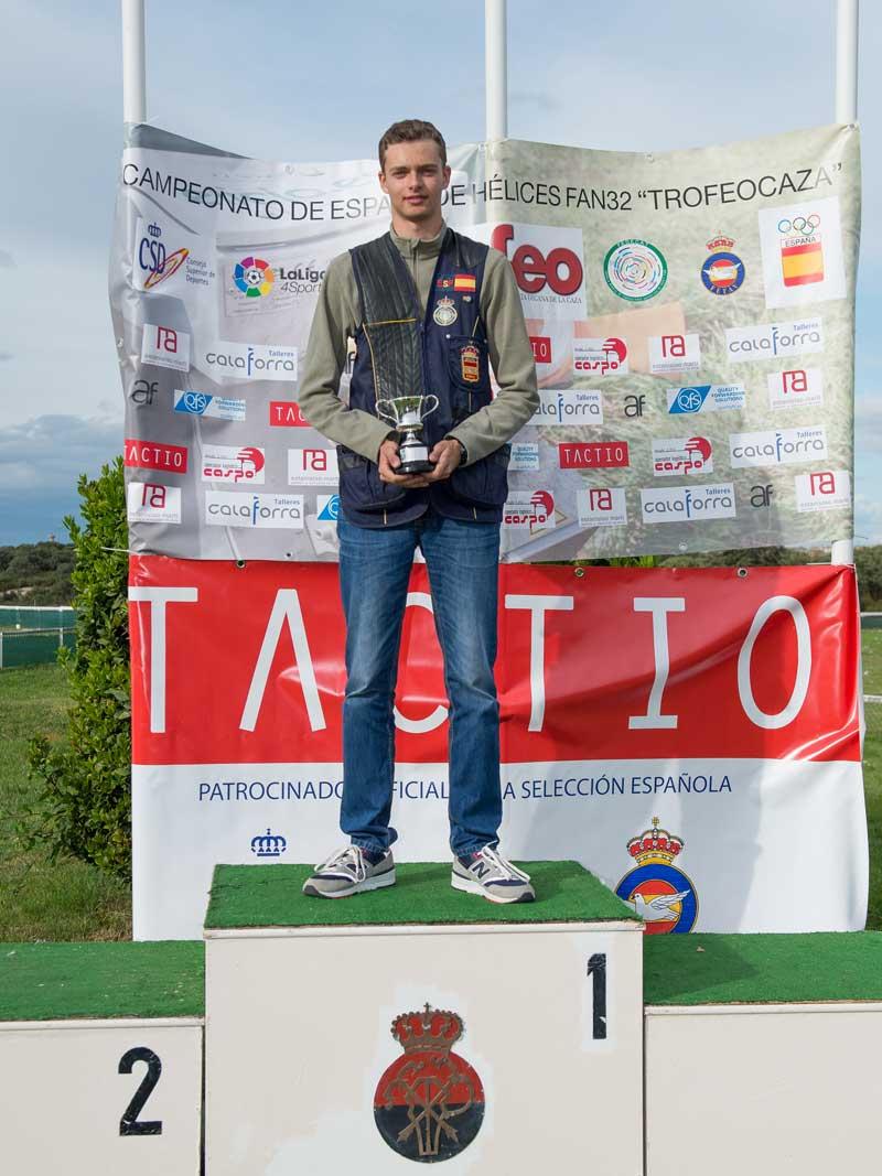 Javier Fernandez ganador Junior y subcampeón absoluto