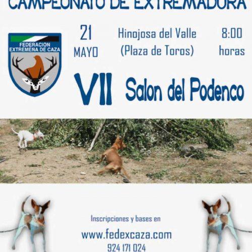 El VII Salón Extremeño del Podenco,el 21 de mayo en Hinojosa del Valle