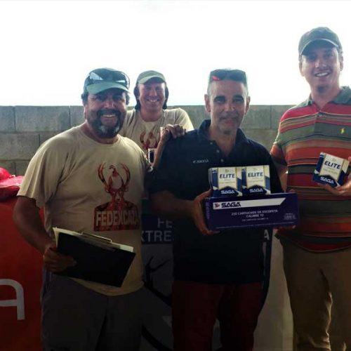 Ángel Luis Gordillo ganador del Campeonato de Extremadura de Recorridos de Caza