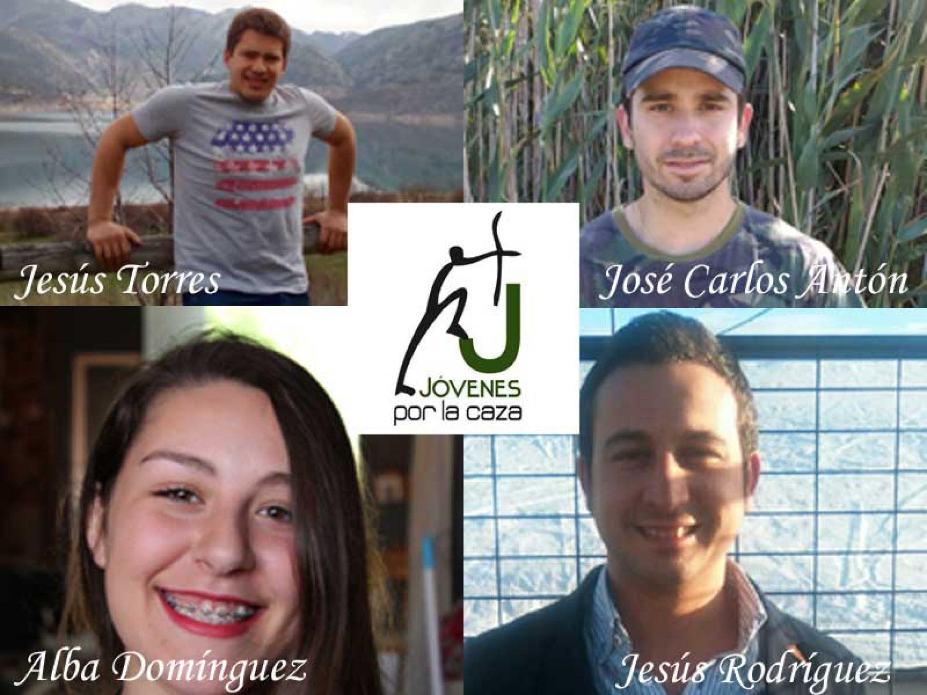 Nuevos representantes de jóvenes por la caza en Extremadura y Valencia