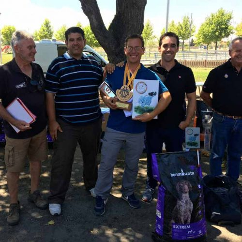 Vicente Lisarde ganador del XIII Campeonato de Catalunya de Perros de Muestra