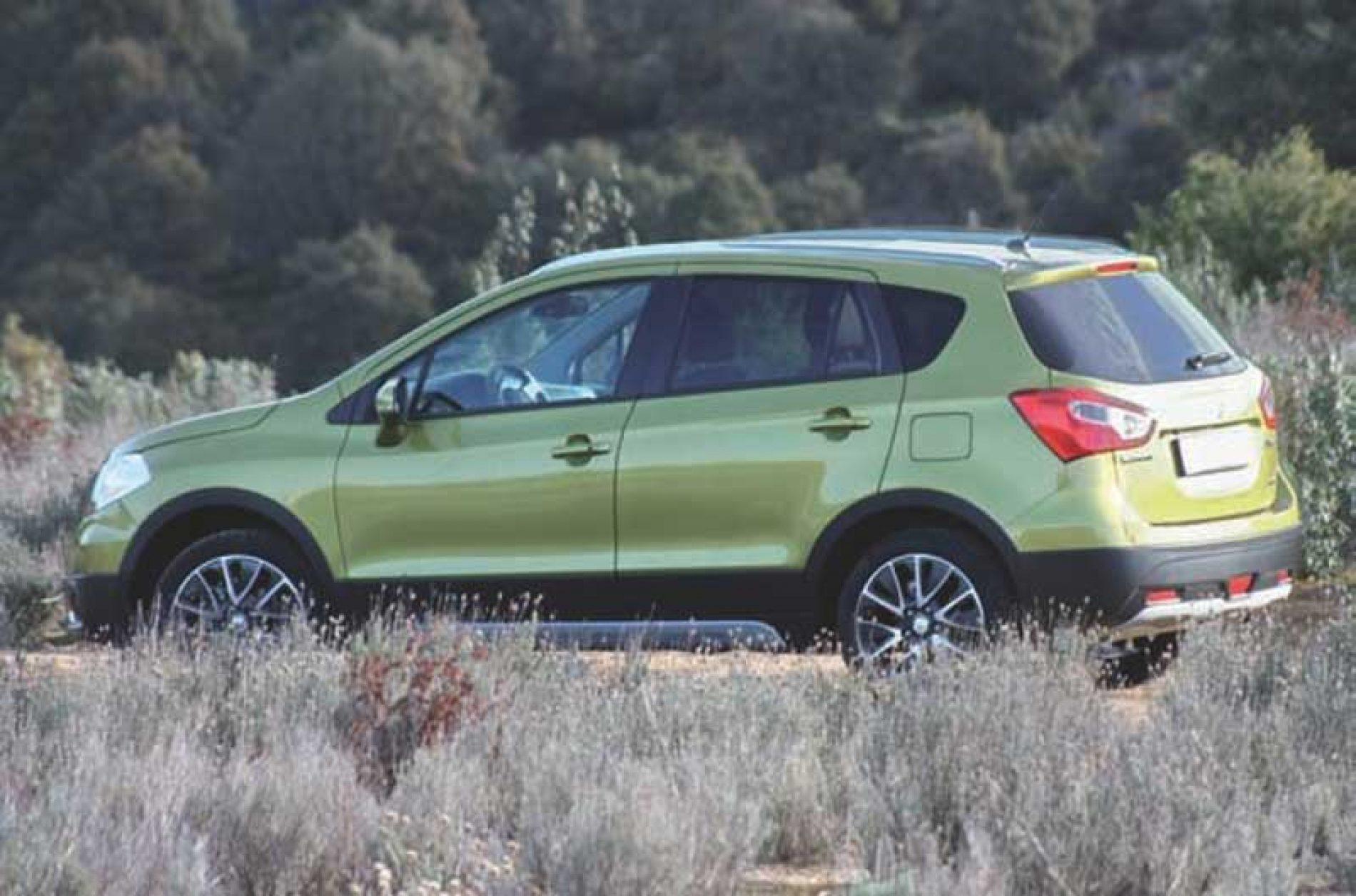 Probamos el Suzuki SX4 S-Cross 1.6 DDiS GLX-EL 4WD. El perfecto desconocido