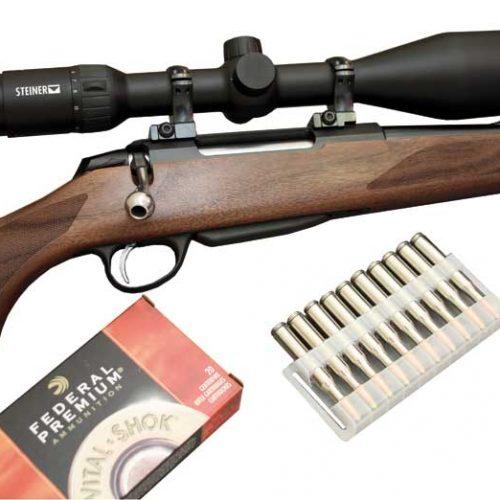 Banco de pruebas del rifle de cerrojo Tikka T3x Hunter