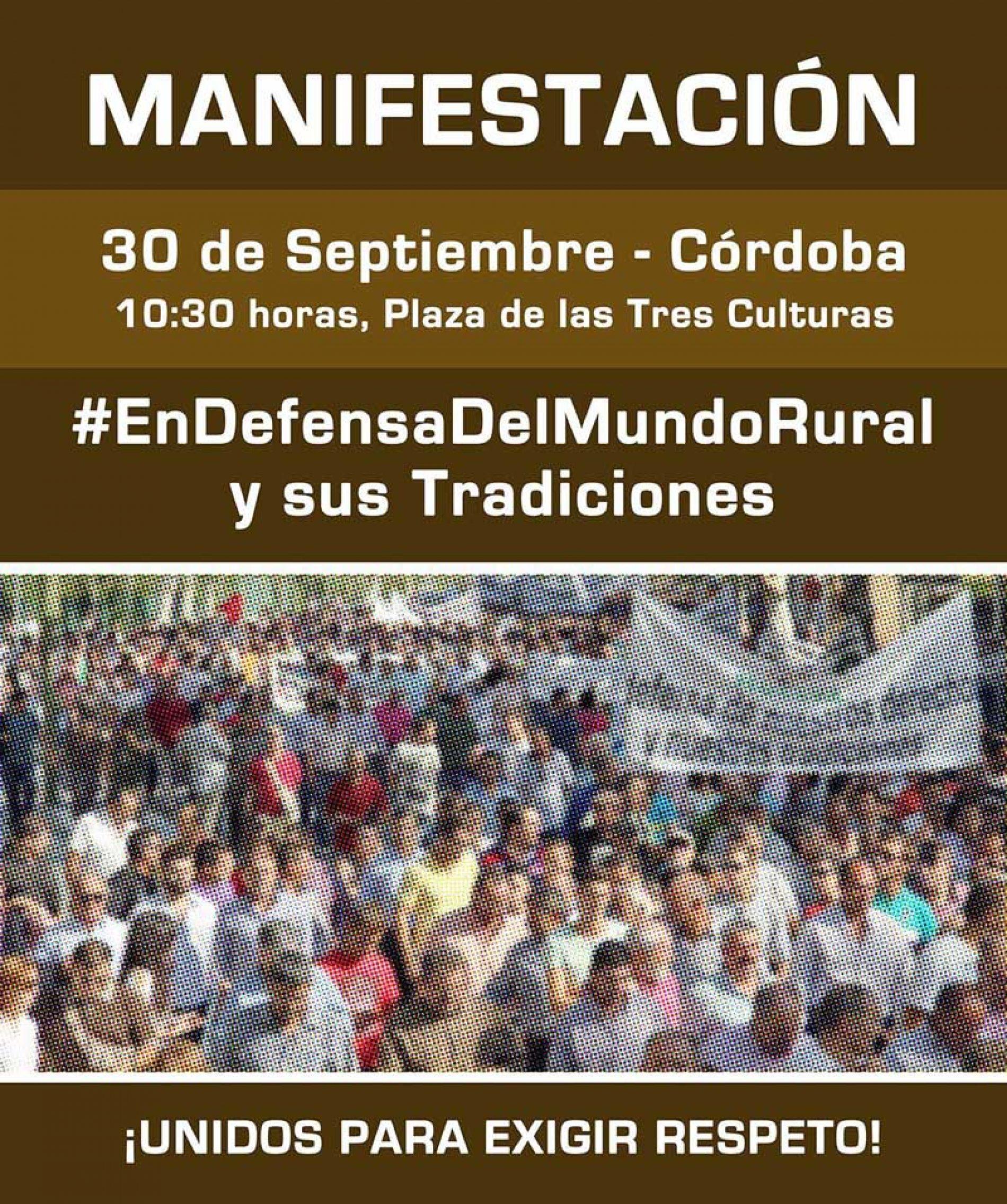 El 30 de septiembre: el Mundo Rural se juega su futuro en Córdoba