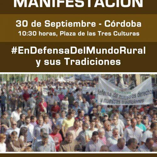 La manifestación en defensa del Mundo Rural desborda las previsiones