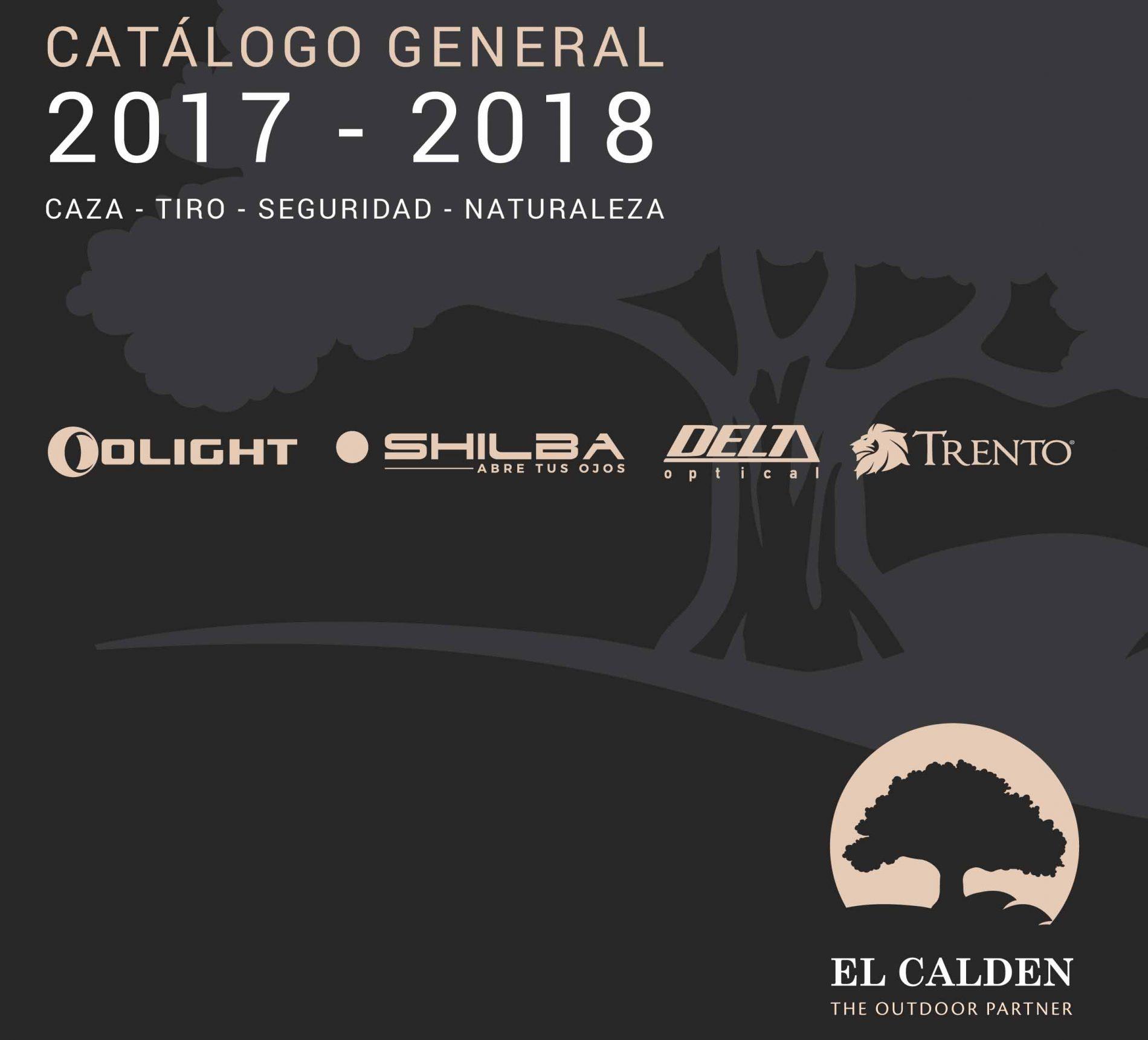 """Nuevo catálogo de """"El Caldén"""" para la temporada de caza 2017/18"""
