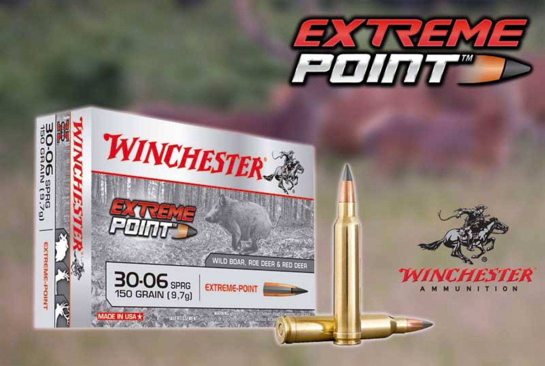 Bala Extreme Point, ideal para caza en batida o en rececho