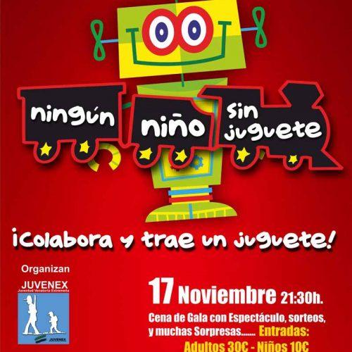 III gala solidaria ningún niño sin juguete