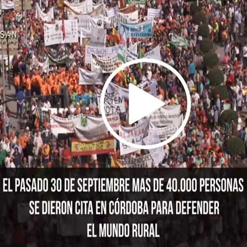 Vídeo resumen de la manifestación del día 30 de septiembre en Córdoba
