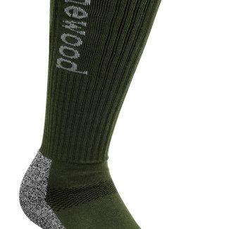 Calceta Pinewood Coolmax (verde) 2-pack
