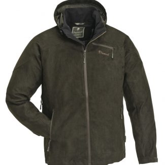 Chaqueta Pinewood Grouse-Suede (suede brown)
