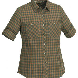 Camisa Sra. Pinewood Felicia (Green/Terracotta)