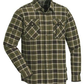 Camisa Pinewood Prestwick Exclusive Verde/Marrón