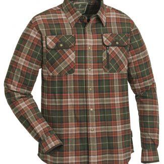 Camisa Pinewood Prestwick Exclusive Terracota/Olive