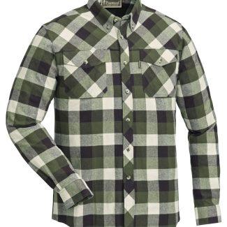 Camisa Pinewood Lumbo (Green/Offwhite)