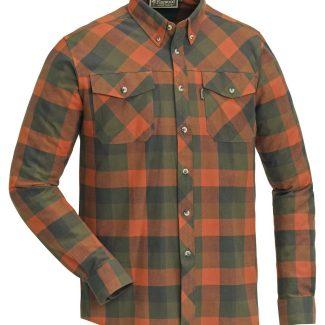 Camisa Pinewood Lumbo Terracotta/Green