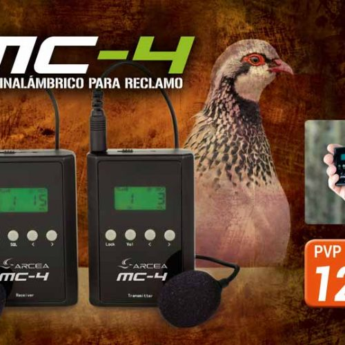 Nuevo micro inalámbrico para reclamo MC-4