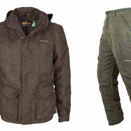 Chaqueta y Pantalón de Chiruca para la caza, 100% impermeables