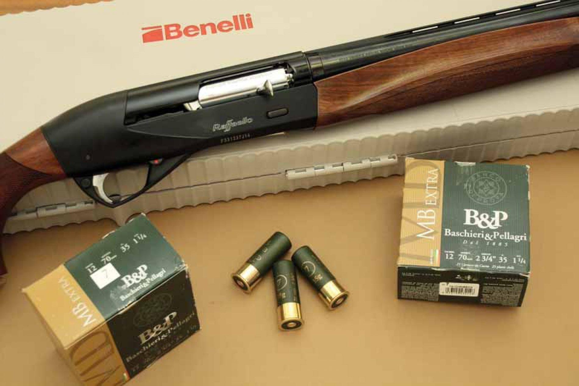 Probamos la escopeta Benelli Rafaello Black
