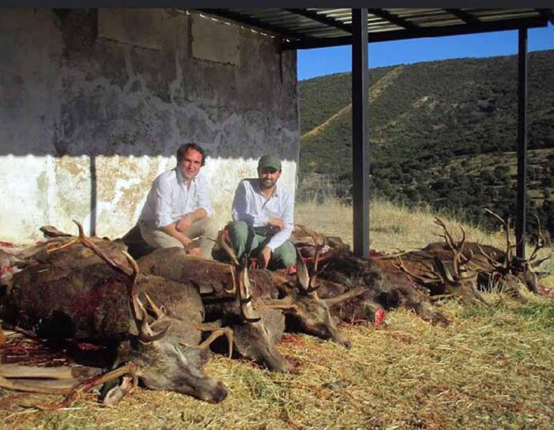 Valdespino, primera montería de la temporada de Mancha Ibérica