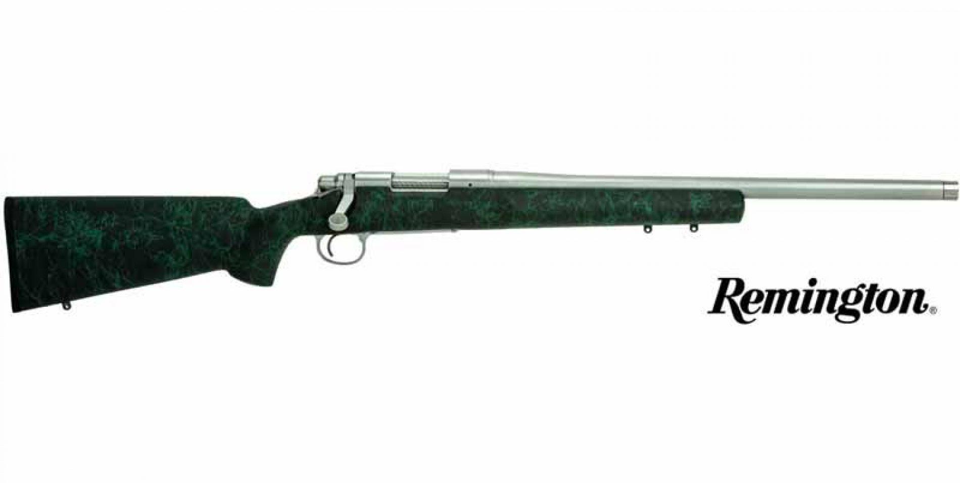 Rifle Remington 700 MILSPEC 5R THR con cañón roscado y cubre roscas