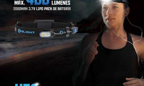 Linterna Olight HS2 para deportes extremos
