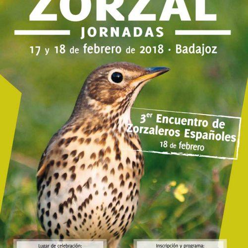Las jornadas 'Gestión y conservación del zorzal' se celebrará en Badajoz