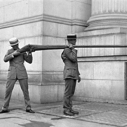 La escopeta de patera, un arma mítica