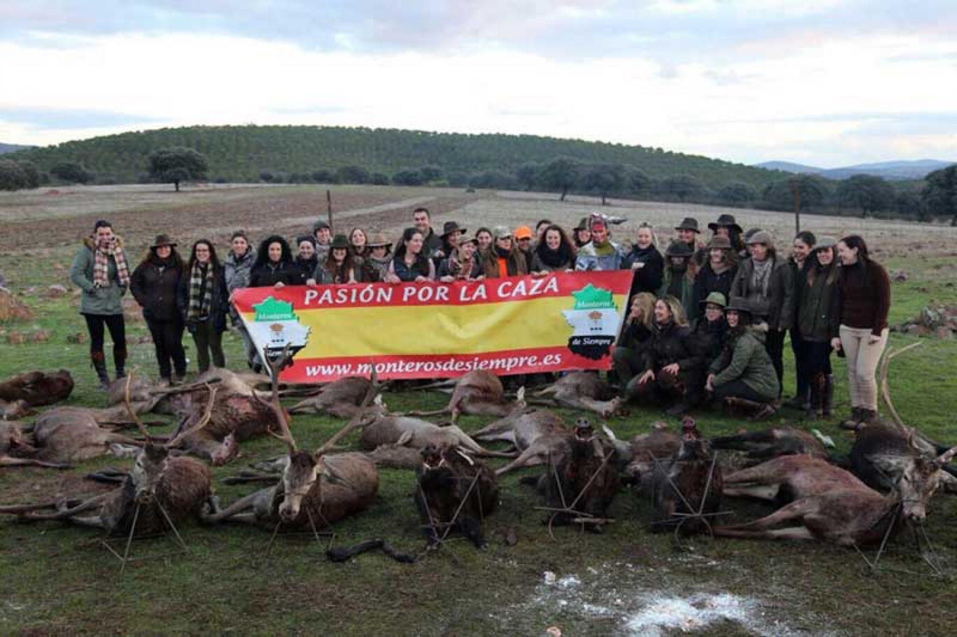 22 monteras y 7 rehaleras en la Montería de Mujeres de este año
